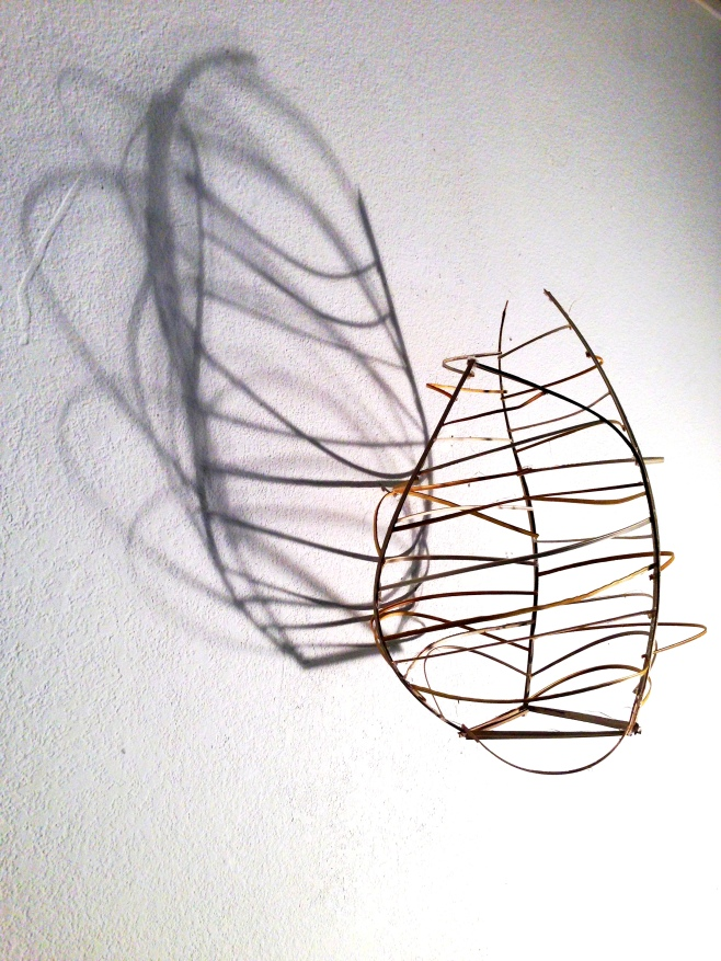 Lauren A. ToomerRib Cage, 2013Bamboo strips and wood stain