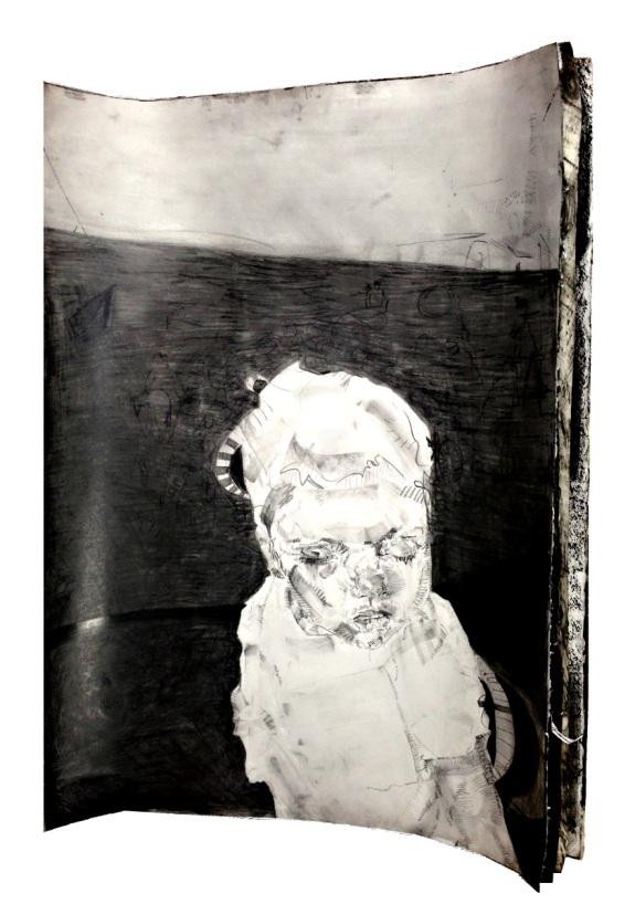 Lauren A. Toomer Jane Graphite on paper(s)