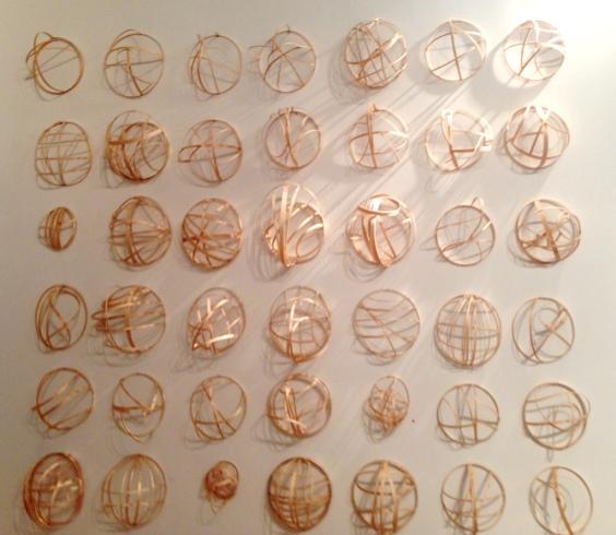 Lauren A. Toomer 42 Atomic Orbital Mask Portraits . 8x8x6 (+- each).