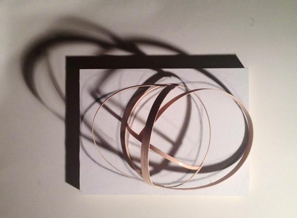 Lauren A. Toomer Mask(Lauren), 2013 Reed, graphite, shadow, paper, wood pedestal  ~12 x 12 x 12 inches