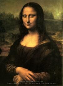 LEONARDO DA VINCI Mona Lisa c. 1503–19
