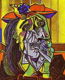 Picasso Weeping Woman c.1937